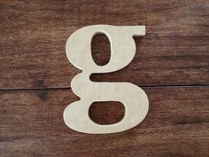 12 Inch Wood Letter  Block Font  Unfinished by CarvedCommotion
