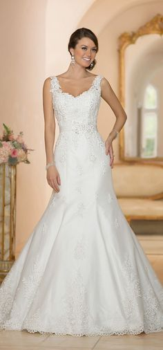 9450129acd3 Stella York Spring 2015 Bridal Collection. White Wedding ...