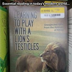 A book everyone should read...