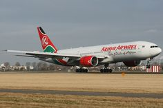 5Y-KQS Kenya Airways Boeing 777-200