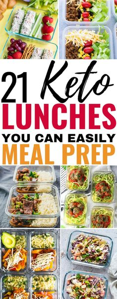 21 Keto Meal Prep Recipes That'll Make It Easy to Burn Fat 21 Keto Lunches you can easily meal prep to burn fat! I'm so glad I found these amazing keto meal prep bowls! Now I can enjoy my low carb lunch at work while losing weight! Defintiely pinning this Ketogenic Diet Meal Plan, Diet Plan Menu, Keto Meal Plan, Diet Meal Plans, Ketogenic Recipes, Diet Recipes, Slimfast Recipes, Ketosis Diet, Smoothie Recipes