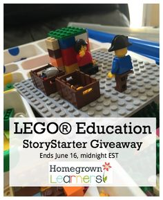 LEGO® Education StoryStarter Giveaway