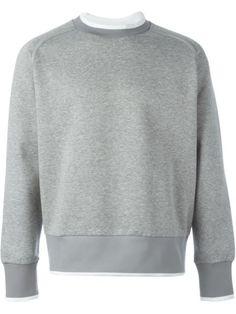 DIESEL Trim Detail Sweatshirt. #diesel #cloth #sweatshirt