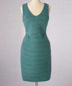 Take a look at this Navy Vintage Ponte Dress by Boden on #zulily today!