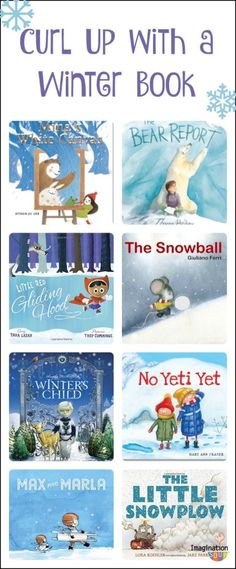 lovely new winter-themed picture books to enjoy with your kids