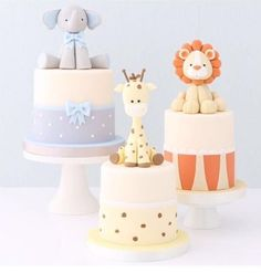 cute animal cakes