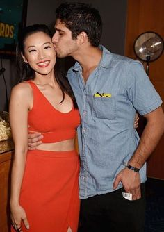 Arden Cho and Tyler Posey