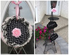 Real Party: Black White Pink Pearl Paris Birthday Party | Baby Lifestyles