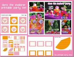the printable party shop...