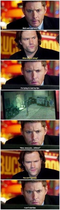 "Gotta love ""Memory Impaired"" Dean | Supernatural"