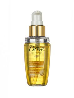 Dove Hair Therapy Nourishing Oil Care - Even the wimpiest strands can handle this argan-oil-infused serum, which fuses split ends and makes dull hair gleam.