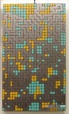 DOT GAME 1  Original Painting Textured Mixed by CMMorrisArtGallery, $199.00