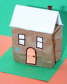 Turn a boring lunch bag into a personalized suburban house. Your child will look forward to his lunch when he has the coolest bag house on the block! Free Activities For Kids, Science Activities, Classroom Activities, Classroom Ideas, Teaching Social Studies, Student Teaching, Teaching Kids, Project Based Learning, Kids Learning