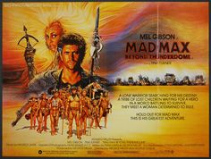 "As much as Mel Gibson and George Miller are taking cues from Sergio Leone's ' Dollars Trilogy' with the character of Mad Max, hey go so far as to call Max ""The Man With No Name"" in THUNDERDOME. Description from rupertpupkinspeaks.blogspot.com. I searched for this on bing.com/images"