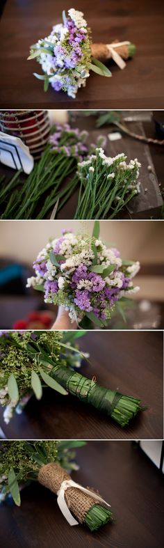 This is one from the website sarah liked more  Top 10 Unique DIY Wedding Bouquets