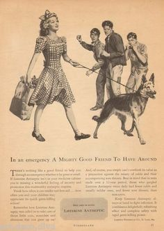 Vintage Add. Love the German Shepherd. Has always been the perfect companion. Though I say any dog that is right for you is the perfect companion.