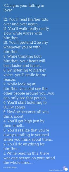 I do all these things. I miss u so much I hate when it's night bc I never have u. I hope we make it together. I can't imagine my life without u.