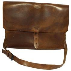 All Saints Vintage Leather Bag Vestiaire Collective Sac pour hommes /Mens Bag