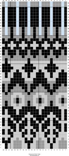 Image result for knitting chart icelandic vine
