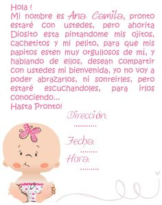Image Detail For  Tarjetas Baby Shower Baby