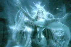 GALADRIEL - DARK QUEEN - LOTR MOVIES this was such a powerful and meaningful scene to those who understood her character and her history from the books. just, wow...this was an awesome scene. I pass the test. I will diminish and go into the West and remain Galadriel. such a weight lifted off of her. she can finally go home.