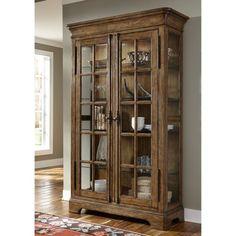 Standard Furniture Woodmont Curio Cabinet   Decorating ideas ...
