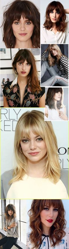 blunt cut haircuts 40 side swept bangs to sweep you your 5246 | 801adb5246c3d19614ee0b25c7c234cd girl hair hair inspiration