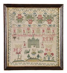 The late Diane Pelham Burn was a lecturer and writer on needlework and thimbles. Her sampler collection representsa foremost passion, a...