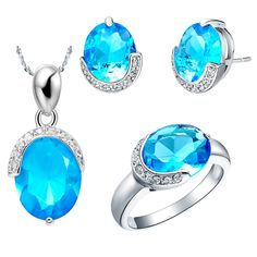 Find More Jewelry Sets Information about 925 Sterling Silver Beautiful Pendant Womens Wedding Simulated Diamond Jewelry Fashion Necklaces And Earring Sets Ulove T084,High Quality necklace rabbit,China necklace gadget Suppliers, Cheap necklace dress from ULOVE Fashion Jewelry Official Store on Aliexpress.com