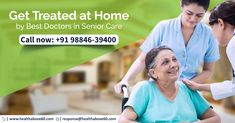 offers complete medical care at home for by the experienced Call us on 98846 39400 to heal at home. Doctor On Call, Good Doctor, Doctor In, Best Doctors, Medical Care, Chennai, Health Care, Health
