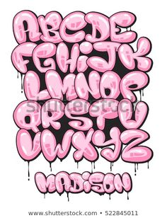 Graffiti bubble shaped alphabet set royalty-free graffiti bubble shaped alphabet set stock vector art & more images of alphabet Graffiti bubble shaped alphabet set. Graffiti Alphabet Styles, Graffiti Lettering Alphabet, Hand Lettering Fonts, Graffiti Styles, Grafitti Alphabet, Graffiti Artists, Cool Fonts Alphabet, Alphabet Drawing, Graffiti Quotes