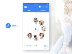 Bitcoin app concept
