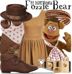 Disney Bound | Fozzie Bear | The Muppets