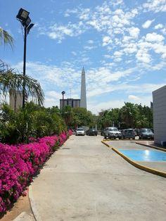 Maracaibo. Zulia. Venezuela. Obelisco plaza de la República.