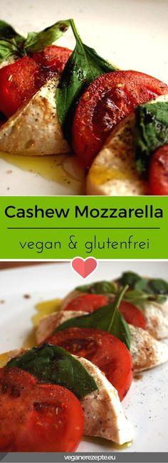 Pflanzlicher Mozzarella auf Basis von Cashews. Entdeckt von Vegalife Rocks: www.vegaliferocks.de ✨ I Fleischlos glücklich, fit & Gesund✨ I Follow me for more vegan inspiration @vegaliferocks