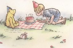 Pooh and Christopher Robin Winnie The Pooh Drawing, Winnie The Pooh Pictures, Cute Winnie The Pooh, Winne The Pooh, Winnie The Pooh Birthday, Winnie The Pooh Quotes, Winnie The Pooh Friends, Eeyore, Tigger
