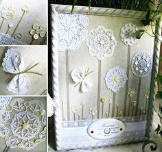 Dantelden Yapılmış Dekorasyon Fikirleri 16 - Mimuu.com