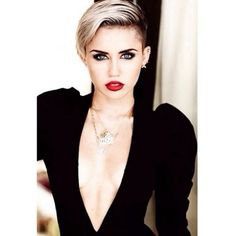 Miley Cyrus; I don't care how much people talk shit about her, I fricken love her!