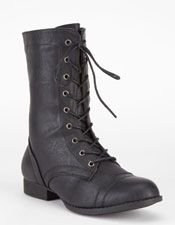 Boots:  On a cold day, boots are great to wear everyday and are comfy to walk around in