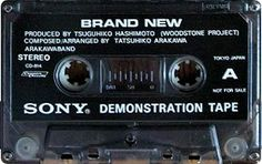 SONY Demonstration Tape A
