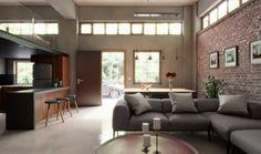 interior view living room