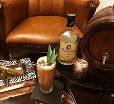 "Time to celebrate with a -BBC aka Big Black Colada 😂🍍🍹- ""Because every woman wants to feel it and every man wants to have it"" by the bartender Oskar Weręża 😅 for the #rdjcocktailchallenge3  Recipe: - 4 cl Ron de Jeremy Reserve - 4 cl fresh pineapple juice - 1 cl fresh lemon juice - 1,5 cl homemade coffee-walnut syrup with a bit of active charcoal - 1,5 cl Guinness Stout  Throw all ingredients from shaker to shaker and serve over ice in high glass"