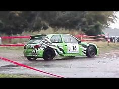 passion voiture hybride: Rallye d'Autun La Chataigne 20 Aout 2016 crash ave...