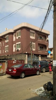 A block of 6(nos) of 3 bedroom flats with 2 toilets and 2 bathrooms each in a fenced,gated and spacious compound  #realestate #property #house #flat #forsale #Yaba #Lagos #Nigeria