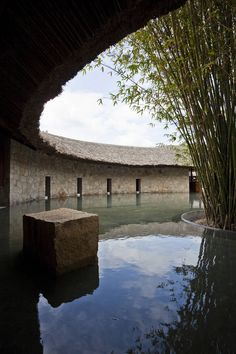 I Resort in the Southern coastal Vietnamese city of Nha Trang, The luxury mud bath resort was designed by Ho Chi Minh City-based architects, A21 Studio,