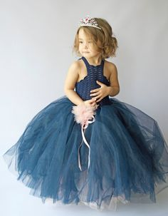 Ankle Length Double Layered Puffy Tutu Dress. Ready by AylinkaShop
