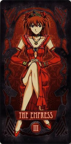 Evangelion - III – The Empress – Asuka Langley Soryu by Gainax *