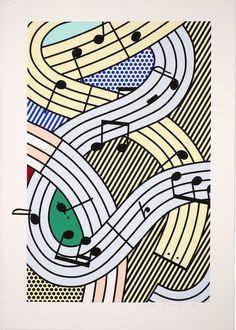 Composition III by Roy Lichtenstein, 1996 | Guild Hall