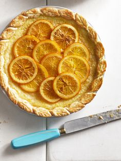Let's not overlook the deliciousness of citrus pies, especially when they come adorned with pretty candied lemon slices. Click through for this and more easy pie recipes.