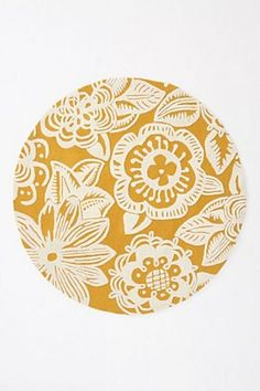 oh, how i love round rugs! especially this beauty from anthropologie.